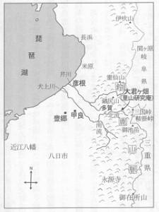 大君ヶ畑周辺地図